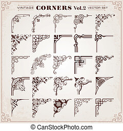 Vintage Design Elements Corners