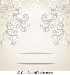 Vintage elegant background for invitations