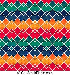Vintage geometric seamless pattern