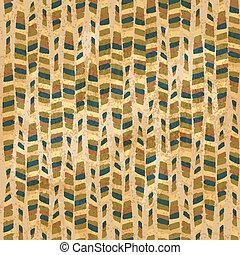 vintage hand-drawn seamles pattern - vector illustration
