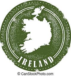 Vintage Ireland Stamp
