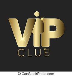 VIP club invitation template