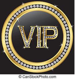 Vip with diamonds
