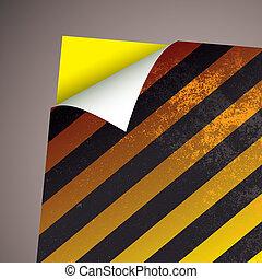 wallpaper paper curl stripe