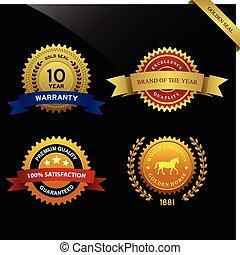 Warranty Guarantee Seal Award