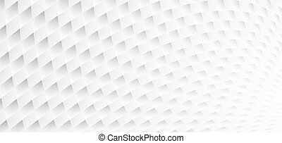 White geometric textured background. Abstract pattern.