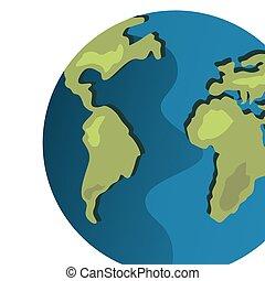 world earth map