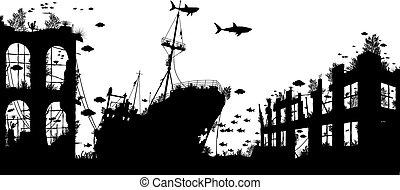 Wreckage reef