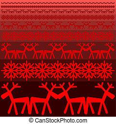Xmas winter pattern Xmas winter patt
