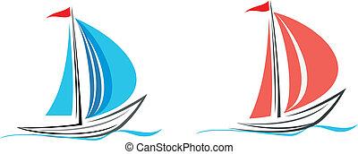 Yacht, sailboat