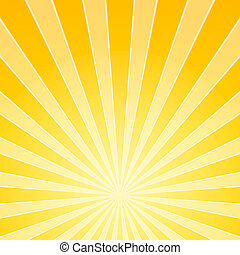 Abstract Background Illustration of orange and yellow shine